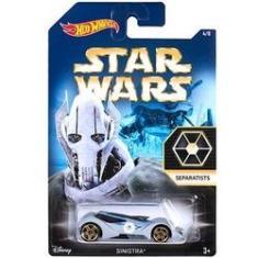 Imagem de Miniatura Carro Carrinho Hot Wheels Sinistra Star Wars Disney Escala 1:64 - Mattel (DFV72)