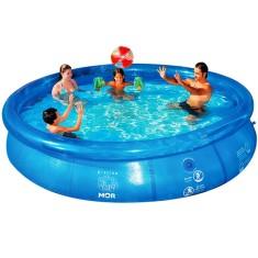 Piscina Inflável 6.700 l Redonda Mor Splash Fun 1055
