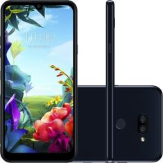 Smartphone LG K40S LMX430BMW 32GB Android Câmera Dupla