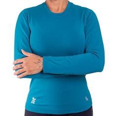 Imagem de Camiseta Lupo Feminina Térmica Com Proteção UV Manga Longa Lupo
