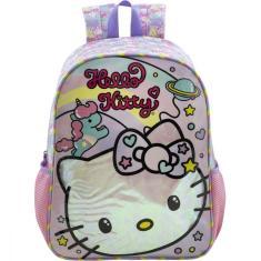 Imagem de Mochila Escolar Hello Kitty Raimbow Xeryus