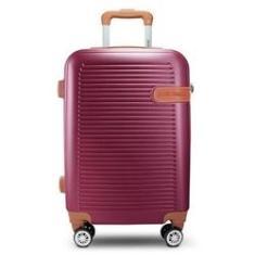 Imagem de Mala De Viagem Pequena Vinho Premium Jacki Design