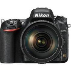 """Imagem de Câmera Nikon D750 Af-S 24-120mm 24.3mp, Lcd 3.2"""", Full Hd"""