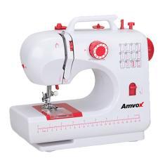 Imagem de Máquina de Costura Doméstica Portátil Reta AMQ 012 - Amvox