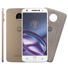Smartphone Motorola Moto Z Z Style Edition XT1650-03 64GB Qualcomm Snapdragon 820 13,0 MP 2 Chips Android 6.0 (Marshmallow) 3G 4G Wi-Fi