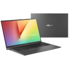 "Notebook Asus X512FB-BR468T Intel Core i5 8265U 15,6"" 8GB HD 1 TB GeForce MX110 8ª Geração Windows 10"