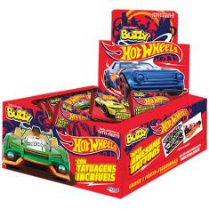 Imagem de Chiclete Hot Wheels Tutti Frutti c/100 - Buzzy