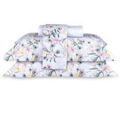 Imagem de Jogo Cama Queen Sultan Naturalle Fashion 200 fios 100% algodão