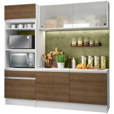 Imagem de Cozinha Compacta 1 Gaveta 6 Portas Topazio Madesa