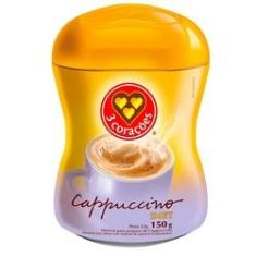 Imagem de Cappuccino 3 Corações Solúvel Diet 150g