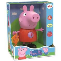 Imagem de Brinquedo Infantil Peppa Com Atividades Peppa Pig Elka 1097