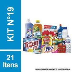 Imagem de Cesta Básica De Higiene E Limpeza C/ 21 Itens