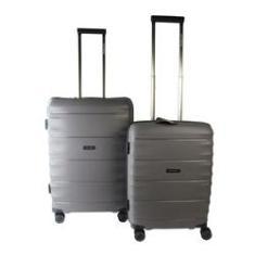 Imagem de Conjunto de Malas de Viagem 2 Peças c/ TSA e Roda 360  Swissland - YS21050C