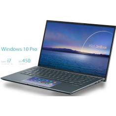 """Imagem de Ultrabook Asus Zenbook 14 UX435 Intel Core i7 1165G7 14"""" 16GB SSD 512 GB GeForce MX450"""