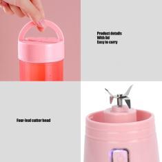 Imagem de Copo de suco recarregável para uso doméstico portátil de alta velocidade extrator liquidificador liquidificador