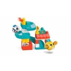 Imagem de Blocos Mega Blocks Parque De Diversões - Mattel Gkx70!