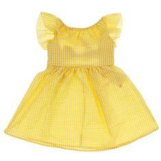 Imagem de Bebê Menina Xadrez Babados Vestido De Verão Crianças Menina Vestidos Sem Costas