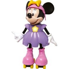 Imagem de Boneca Disney Minnie Patinadora Elka
