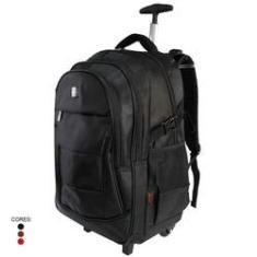 Imagem de mochila necessaire masculina mochilas cargueira masculinas de tamanho grande adulto Lazer para laptop viagem claro impermeável multifuncional homens Anatômica Com Rodas