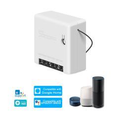 Imagem de Sonoff mini diy Two Way Switch Inteligente corpo pequeno controle remoto WiFi switch Prova um link externo interruptor trabalhar com o Google Início / Nest ifttt & Alexa  1