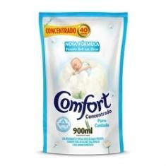 Refil Amaciante de Roupa Comfort Concentrado Puro Cuidado Intense 900ml
