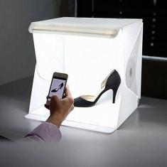 Imagem de Sala de luz mini estúdio foto fotografia iluminação tenda kit caixa cubo pano de fundo tiro mesa
