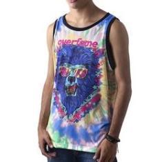 Imagem de Camiseta Regata Masculina Overfame Lobisomem Tie dye md41