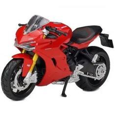 Imagem de Moto Miniatura Ducati Super Sport S Maisto 1/18 - Full