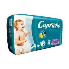 Fralda Capricho Bummis Tamanho XXG Mega 36 Unidades Peso Indicado 15 - 25kg