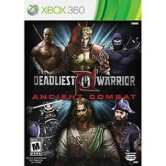 Jogo Deadliest Warrior: Ancient Combat Xbox 360 Spike