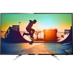 "Smart TV TV LED 55"" Philips Série 6000 4K Netflix 55PUG6102 4 HDMI"