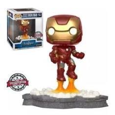 Imagem de Avengers Assemble - Iron Man #584 (homem De Ferro) Exclusive Funko Pop Deluxe