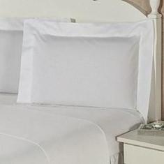 Imagem de Jogo de Cama King Premium Clear 4 Peças 100% Algodão Percal 180 Fios - Plumasul