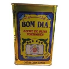 Azeite de Oliva virgem Português Bom Dia lata 500ml
