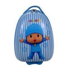 Imagem de Mala Rígida Infantil Pequena De Rodinhas Para Viagem Pocoyo -  E  - Pode Ser Utilizada Com Mala De Bordo - Santino