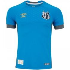 Camisa Santos 2018 19 sem Número Goleiro Masculino Umbro d4a345735d51b