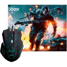 Mouse Gamer Óptico USB MC101 - OEX