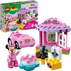 Imagem de Festa De Aniversário De Lego Duplo Minnie 10873 Blocos De Construção (21 Peças)