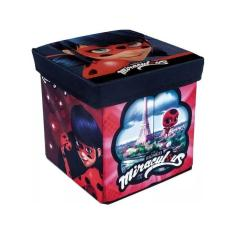 Imagem de Porta-Objetos Banquinho Ladybug - Zippy Toys