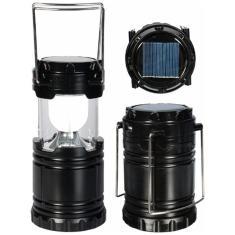 Imagem de Lampiao Solar 8 Led USB Lanterna Bateria Recarregavel