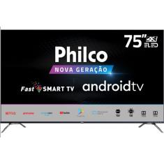 "Imagem de Smart TV LED 75"" Philco 4K HDR PTV75K90AGIB 4 HDMI"