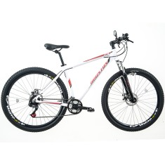 Bicicleta Mountain Bike Houston 21 Marchas Aro 29 Suspensão Dianteira Freio a Disco Mecânico Mercury HT29