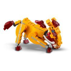 Imagem de Lego Creator 3 Em 1 - Leão Selvagem