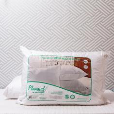 Imagem de Travesseiro Alto de Pena de Ganso PlumaSul 50x70cm