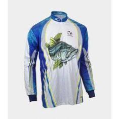 Imagem de Camiseta De Pesca Faca Na Rede Combat S Robalo