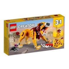 Imagem de Lego Leão Selvagem 3 Em 1 - Lego Creator