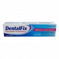 Imagem de DentalFix Creme Fixador Para Dentaduras Sem Sabor 40g