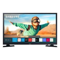 "Smart TV LED 32"" Samsung LH32BETBLGGXZD 2 HDMI USB Frequência 60 Hz"