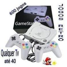 Imagem de GAMESTATION Console jogos vídeo game retro jogos 600 jogo - Jogos Nitendo