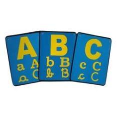 Imagem de Varal De Letras/ Alfabeto Em Eva 26 Pçs- Alfabetização